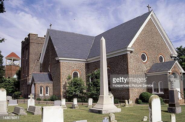 St John's Church Oldest Anglican parish church in continuos existence founded 1610 established at the founding of the settlement at KecoughtanHampton...