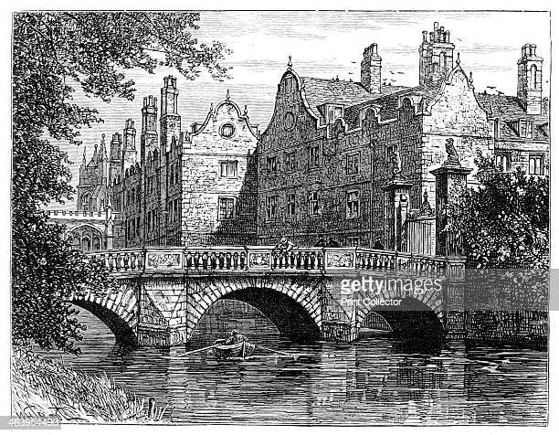 St John's College Cambridge 1900 The college was founded by Lady Margaret Beaufort in 1511 Illustration from The life and times of Queen Victoria by...