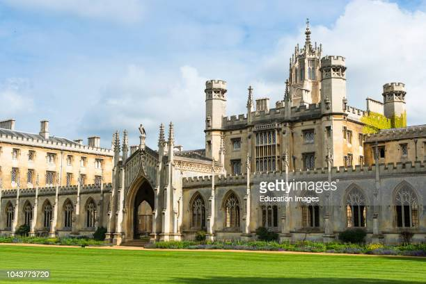 St Johns College, Cambridge, England.