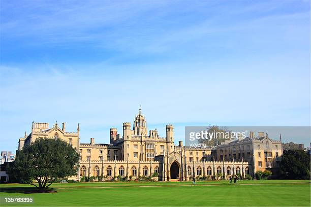 st. john's college - cambridge university stock pictures, royalty-free photos & images
