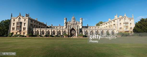 st john's college - cambridge university stock pictures, royalty-free photos & images