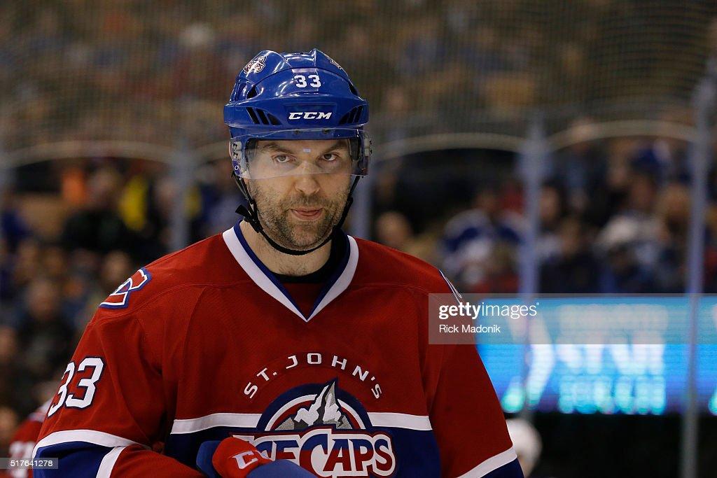 Toronto Marlies V St. John's Ice Caps : News Photo
