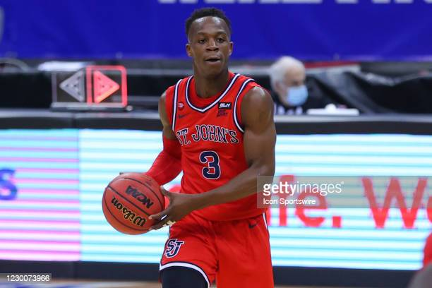 St. John's Red Storm guard Rasheem Dunn during the second half of the college basketball game between the Seton Hall Pirates and the St. John's Red...