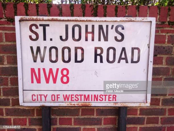 st john's wood road w8 - england cricket stock pictures, royalty-free photos & images
