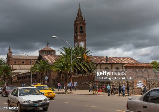 St Joseph cathedral, Central region, Asmara, Eritrea on August 14, 2019 in Asmara, Eritrea.