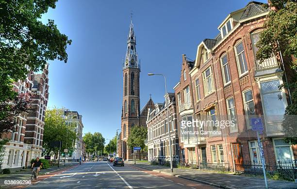 st. joseph cathedral in groningen, the netherlands - groningen province stock photos and pictures