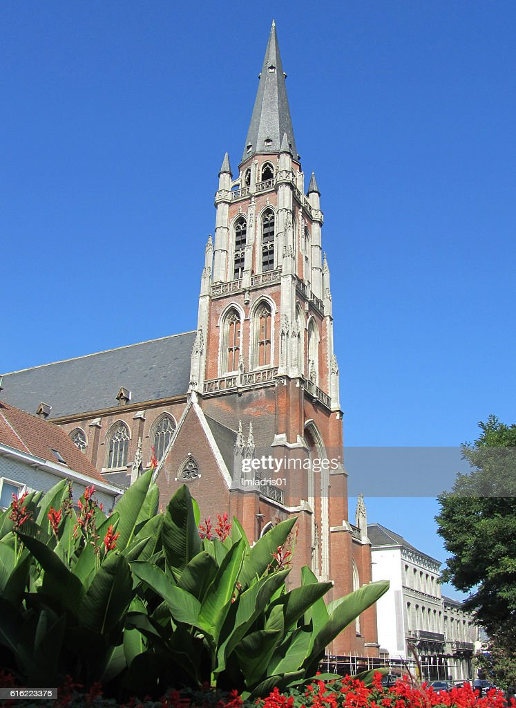St. Josephs Church, Aalst : Bildbanksbilder