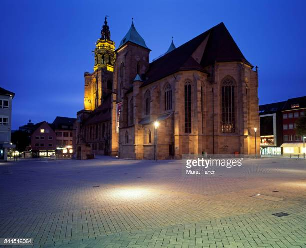 st. kilian's church - baden württemberg stock pictures, royalty-free photos & images