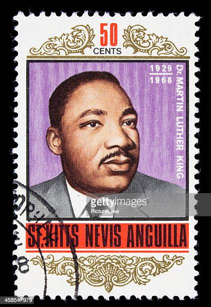 St. Kitts Martin Luther King Jr postage stamp