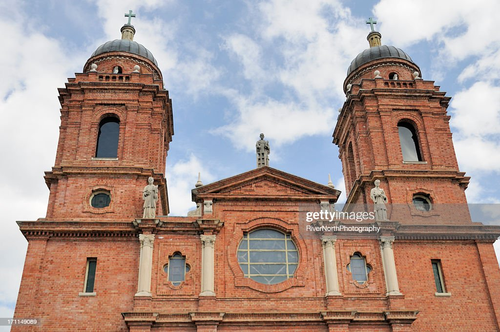 St. Lawrence Basilica, Asheville, NC : Stock Photo