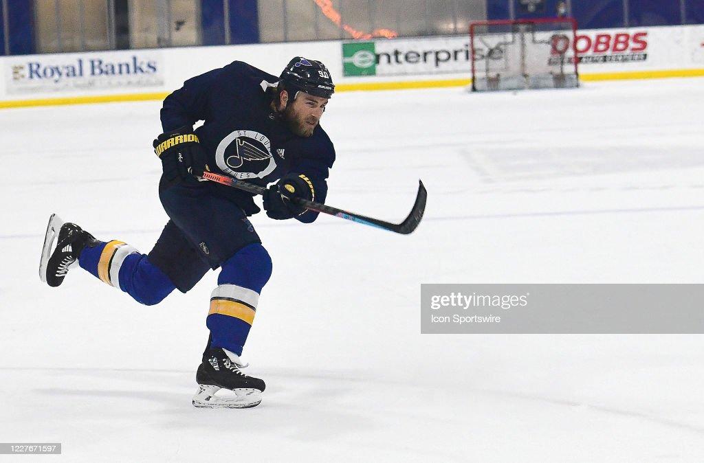 NHL: JUL 17  St. Louis Blues Training Camp : News Photo