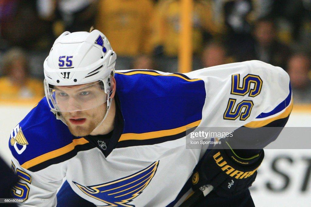 NHL: MAY 07 2nd Round Game 6 - Blues at Predators : News Photo