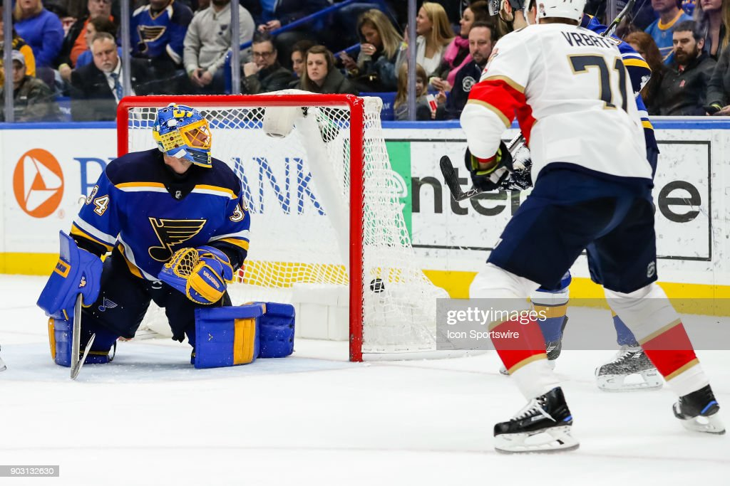 NHL: JAN 09 Panthers at Blues : News Photo