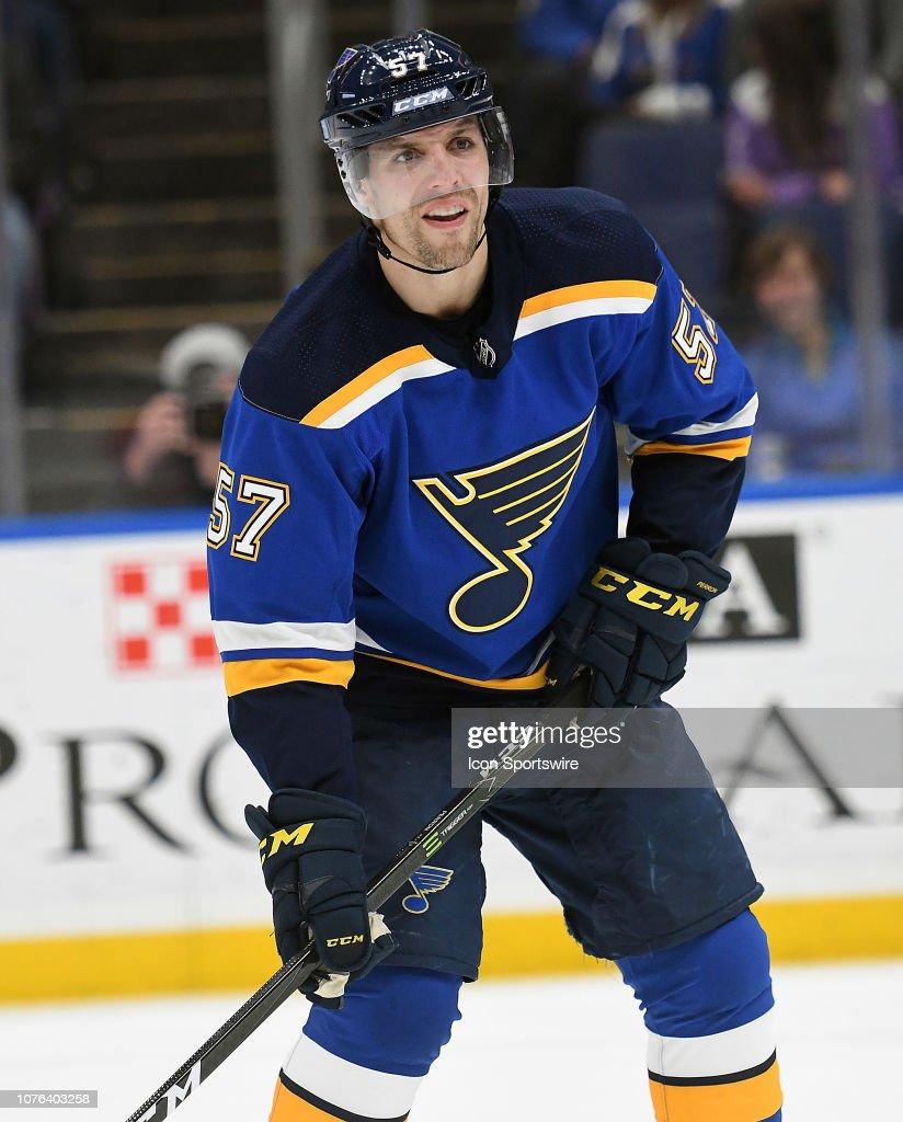 NHL: DEC 31 Rangers at Blues : News Photo