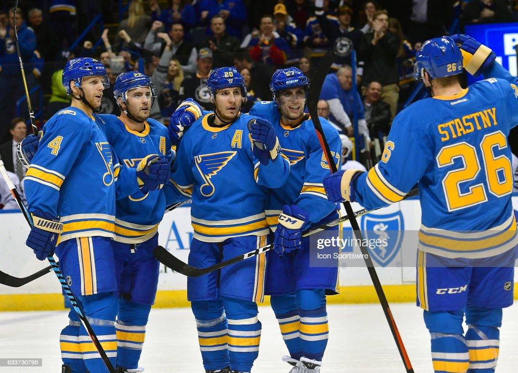 NHL FEB 02 Maple Leafs At Blues