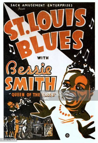 St. Louis Blues, poster, Bessie Smith on poster art, 1929.