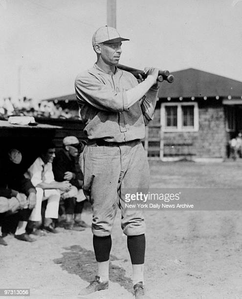 St Louis Browns' Ken Williams prepares to bat