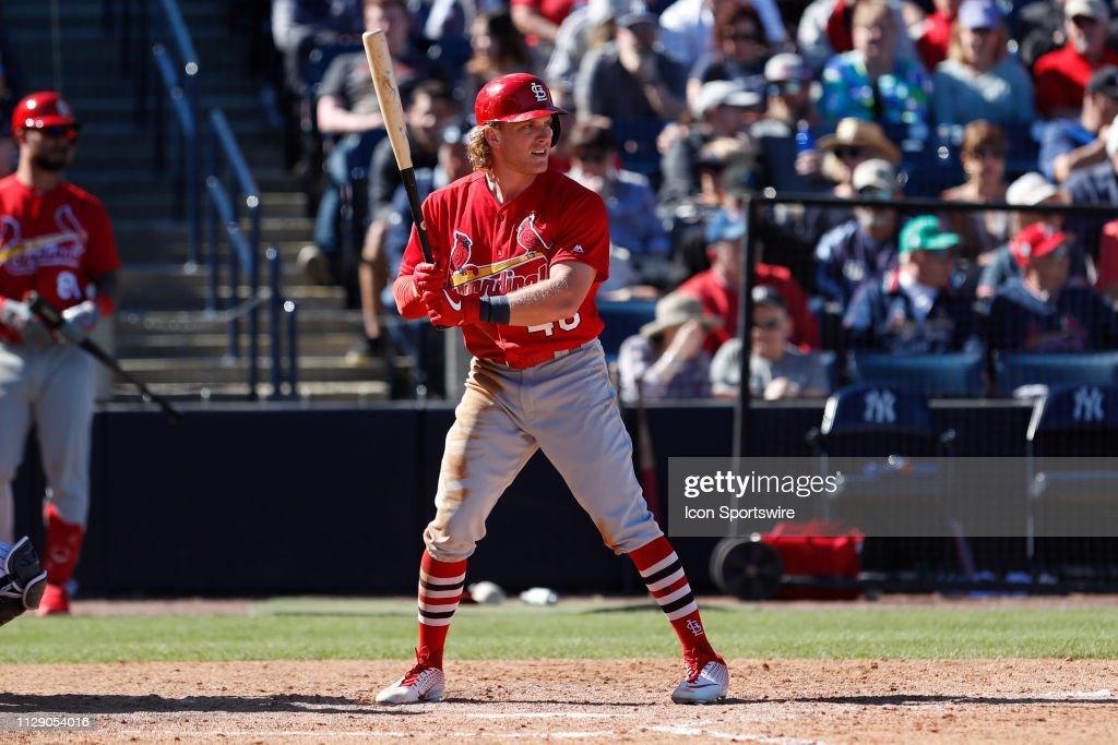 MLB: MAR 06 Spring Training - Cardinals at Yankees : News Photo