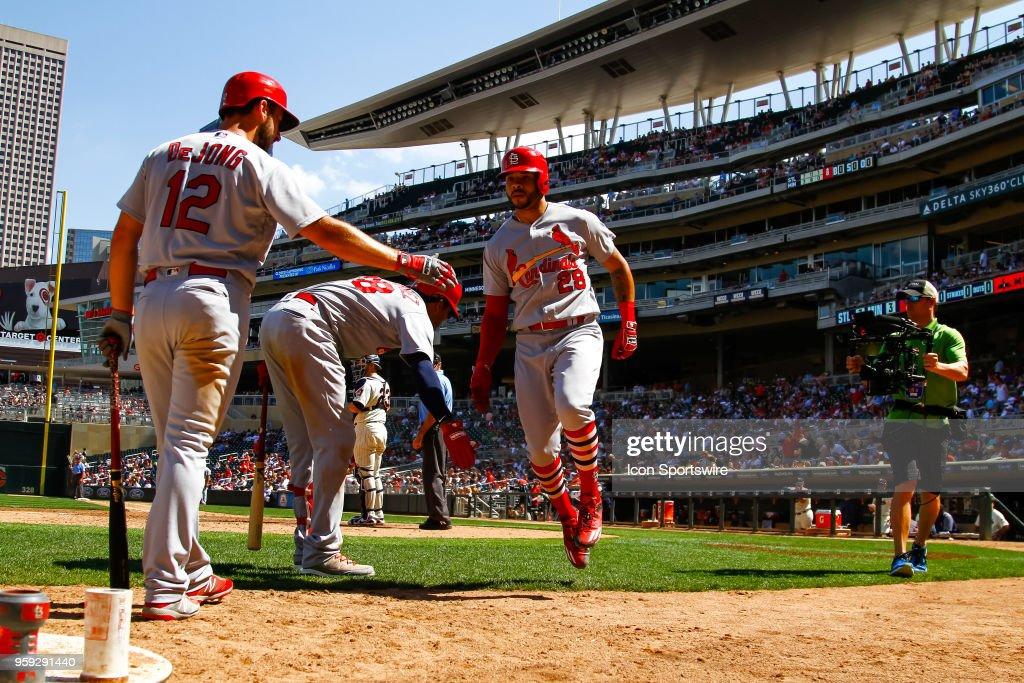 MLB: MAY 16 Cardinals at Twins : News Photo