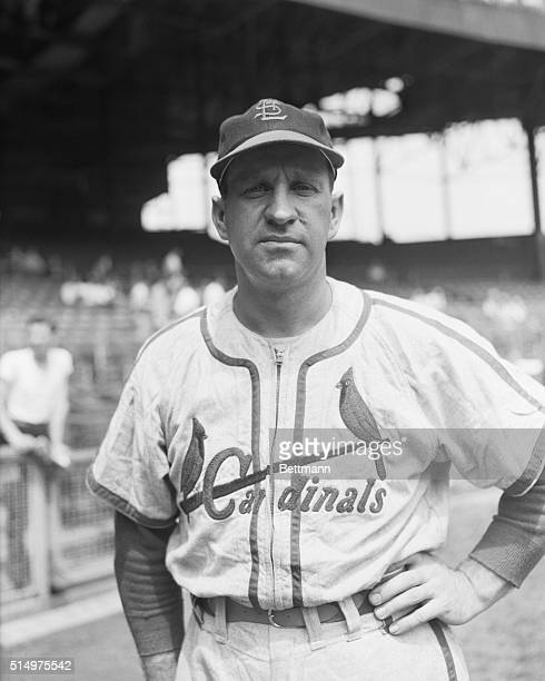 St Louis Cardinals' Enos Slaughter