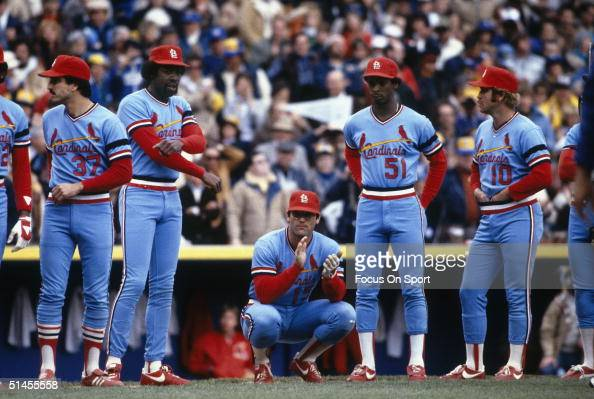 St Louis Cardinals Players Keith Hernandez George