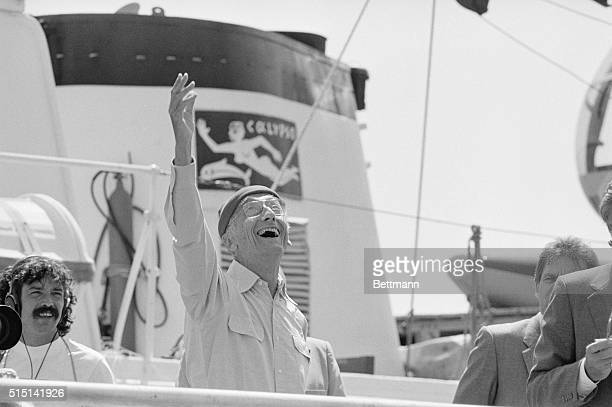 Jacques Yves Cousteau the famed French underwater explore and his research vessel the Calypso arrived in St Louis Cousteau and the Cousteau Society...