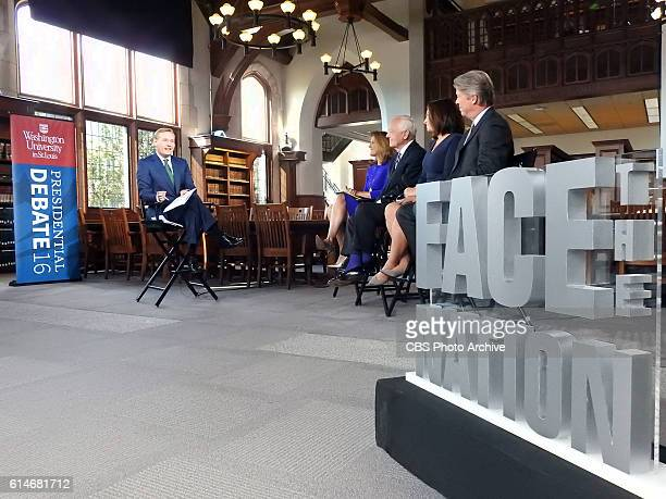 St Louis Missouri CBS News' Face the Nation broadcasts from Washington University in St Louis ahead of the second presidential debate on the Sunday...