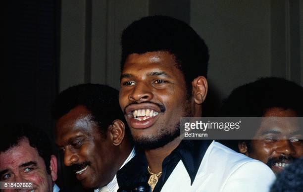 St. Louis, Missouri: Leon Spinks, world heavyweight champion. May 18, 1978.
