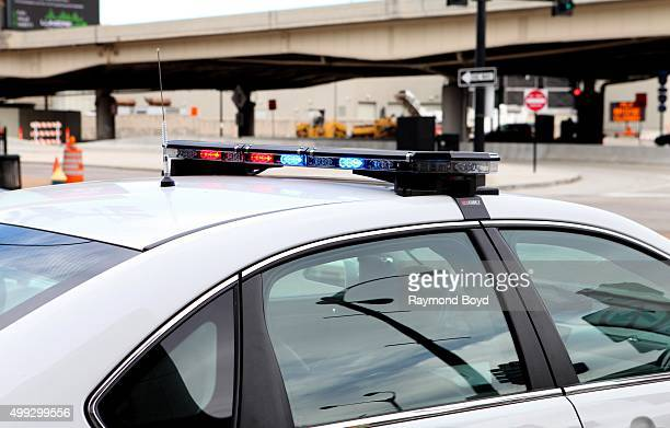 St Louis police vehicle sits outside the Edward Jones Dome in St Louis Missouri on November 15 2015