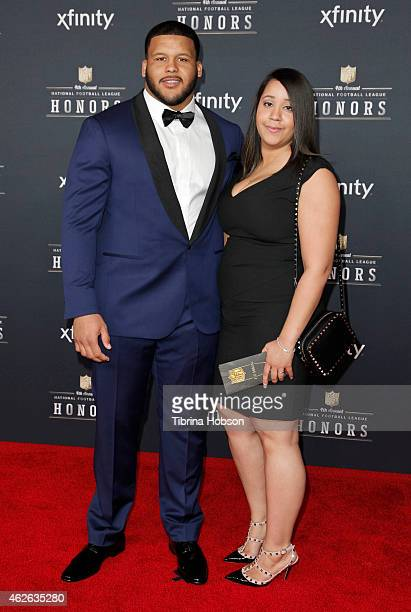 St Louis Rams defensive tackle Aaron Donald attends the 4th Annual NFL Honors at Phoenix Convention Center on January 31 2015 in Phoenix Arizona