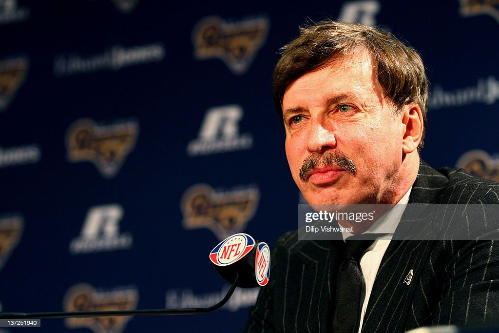 St Louis Rams Introduce Jeff Fisher : News Photo