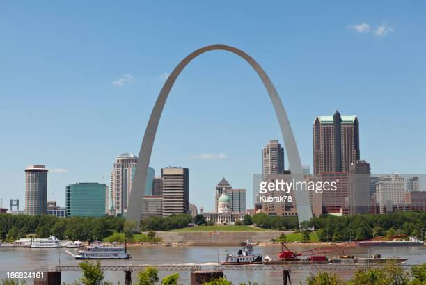 St. Louis Skyline with the Gateway Arch