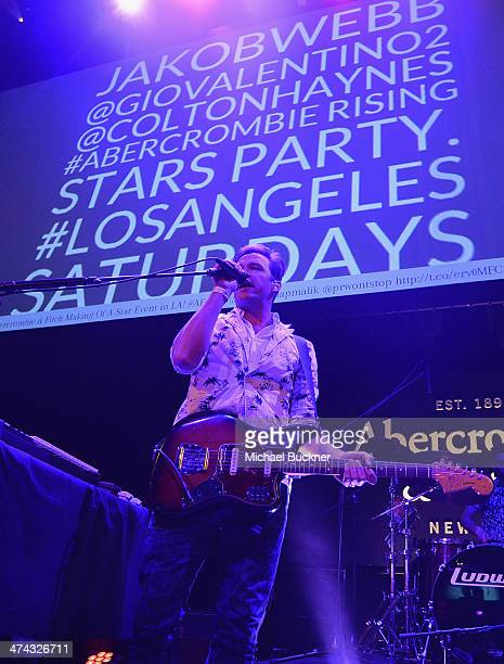 "St Lucia celebrates the Abercrombie Fitch ""The Making of a Star"" Spring Campaign Party in Hollywood CA on February 22 2014"