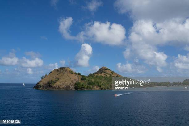 St. Lucia Island National Park at Pigeon Point