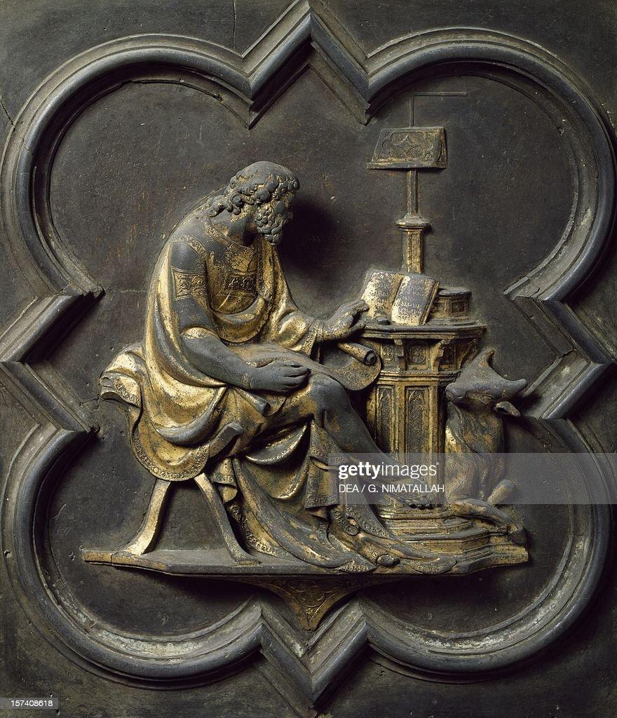 St Luke Evangelist Bronze Panel Pictures Getty Images