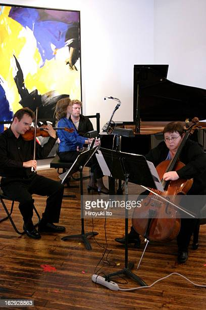 St Luke's Chamber Ensemble presents Notable Women A Celebration of Women Composers at Chelsea Art Museum on Saturday afternoon June 9 2007The...