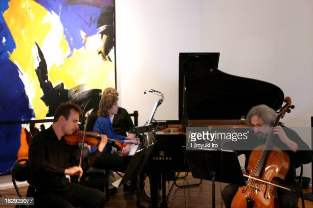 St Luke's Chamber Ensemble presents 'Notable Women A Celebration of Women Composers' at Chelsea Art Museum on Saturday afternoon June 9 2007The...