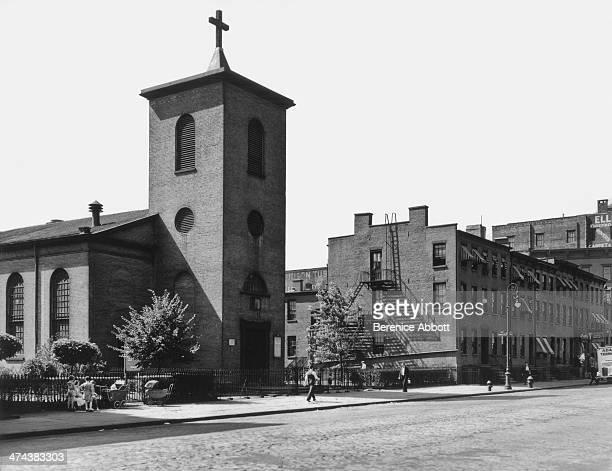 St Luke's Chapel Greenwich Village New York circa 1945