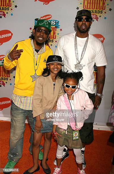 St Lunatics during Nickelodeon's 19th Annual Kids' Choice Awards Arrivals at Pauley Pavilion in Westwood California United States