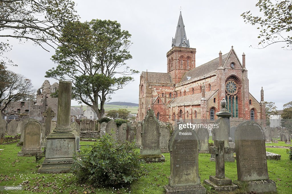St Magnus Cathedral, Orkney : Stock Photo