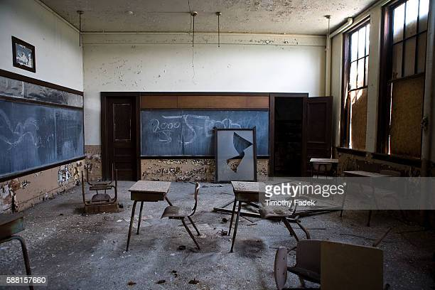 St Margaret Mary School The decadeslong decline of the US automobile industry is acutely reflected in the urban decay of Detroit the city once...