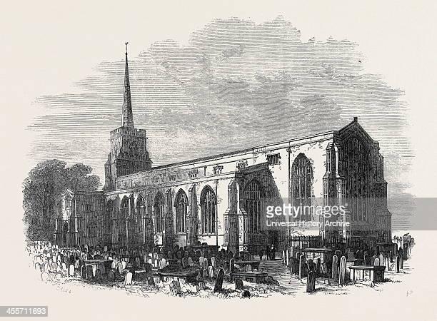 St Margaret's Church Lowestoft Lately Restored 1871