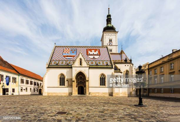 St. Mark's Church in the heart of Zagreb, Croatia