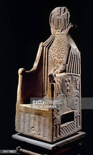 St Mark's throne and reliquary The Treasury St Mark's Basilica Venice Italy 6th century