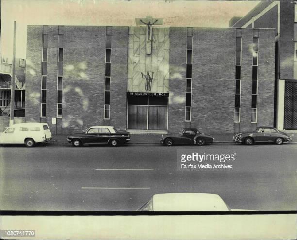 St Marons Church Elizabeth St Redfern July 20 1973