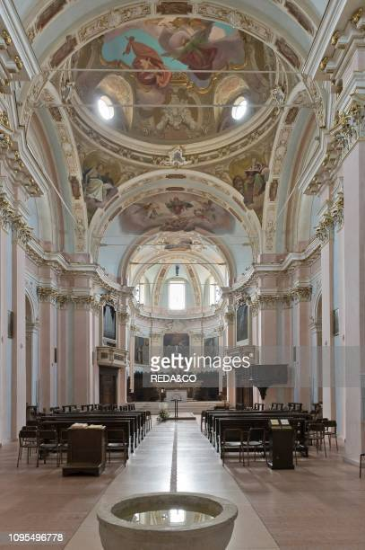St Martin church, Cenate Sotto, Lombardy, Italy, Europe.