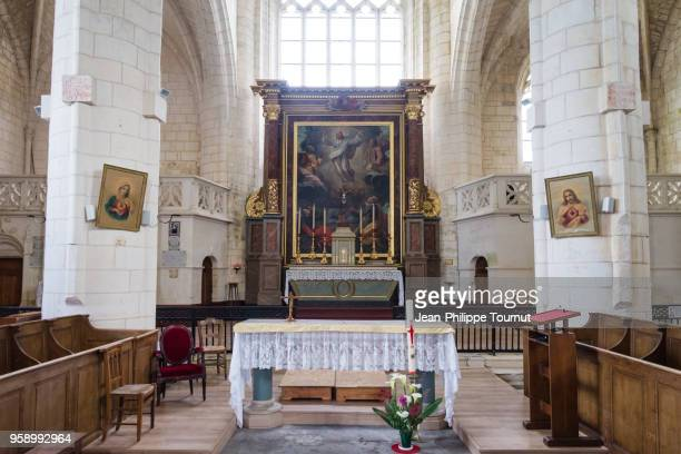 St. Martin Church of Esnandes, near La Rochelle, France