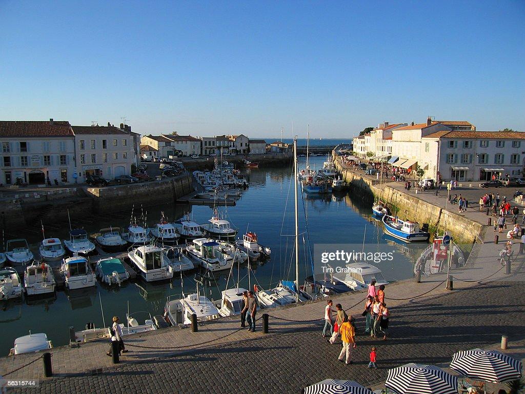 St Martin De Re Harbour Ile De Re France Fotografía De
