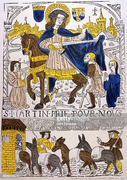 St Martin of Tours 4th century After converting to Christianity St Martin lived as a hermit in France at Liguge near Poitiers His example attracted...
