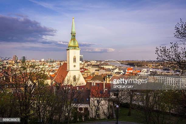 St. Martin's Cathedral from Bratislava Castle